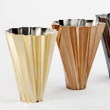 Modern Flower Vase Kartell Shanghai Vase With Round Tapered Shape For Flower