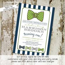 gentleman baby shower bow tie baby shower invitation by katiedid designs on zibbet