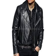leather bike jackets for sale trendy cropped leather men biker jacket