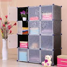 Wardrobe Closet Organizer by Amazon Com Unicoo Multi Use Diy Plastic 12 Cube Organizer