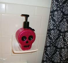 Sugar Skull Bathroom Skulls And Bacon My New Sugar Skull Shower Curtain