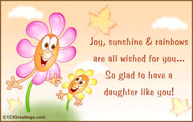 facebook birthday card for daughter wish your daughter joy