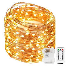 kohree 120 micro leds string lights battery