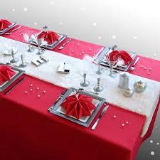 red and white table runner elegant christmas table decorations red white christmas decor red