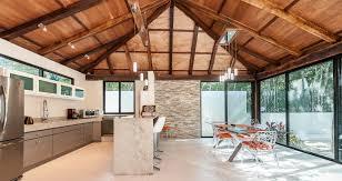 huge modern kitchens casa chaca tulum