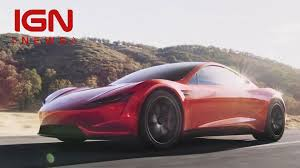 truck tesla tesla reveals new semi truck roadster ign news video elon musk