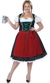 Gretchen Costume Halloween Oktobermiss Beer Maid Costume Party