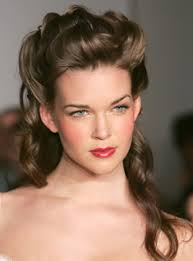 hairstyles for thick hair and heart face vintage updo hairstyles for dark brown hair cute women hairstyles