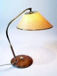 vintage 50s 60s rotaflex lamps teak plastic mid century modern