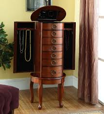 Mirrored Jewelry Armoire Ikea Furniture Inspiring Ears Jewelry Armoire For Home Furniture Ideas