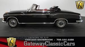 1960 mercedes for sale 1960 mercedes 220 se cabriolet gateway cars chicago