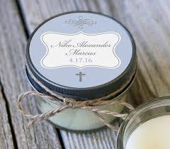 personalized baptism favors baptism communion veris candles bath event favors