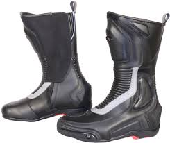 leather motorcycle shoes spyke road runner wp black boots spyke road runner wp leather boots