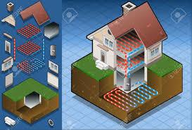 geothermal heat pump diagram geothermal heat pump ground