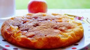 recette de cuisine sans four gâteau aux pommes à la poêle sans four recette par