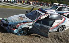 motogp bmw m5 pace car crashes at jerez bimmerfile