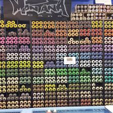 check out the rainbow of color at the paint yard 1216 hoefgen ave