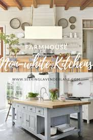 modern country kitchen with oak cabinets non white farmhouse kitchens seeking lavender