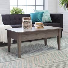 turner lift top coffee table oak hayneedle