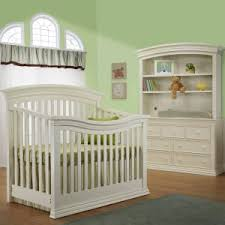 bedroom cool baby crib with attached changing table design with