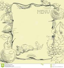 menu borders template 28 images gallery for gt soup clipart