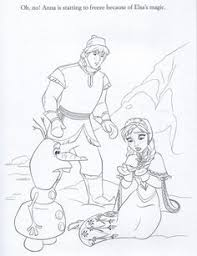 printable anna elsa disney frozen coloring pages kids