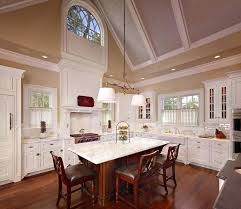 vaulted kitchen ceiling ideas kitchens with cathedral ceilings pictures kitchen with cathedral