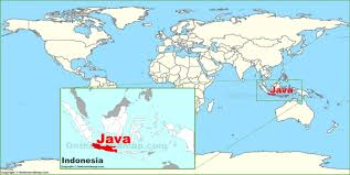 Map In Java Java Island Map In Past Image Mesmerizing Map World Java