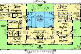 style home plans with courtyard mediterranean style house plans style home plans with