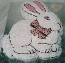 rabbit cake melanie ferris cakes fruit and sponge birthday cakes