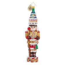 christopher radko ornaments radko cracker nutcracker