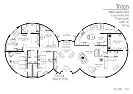 floor plan dl 4704 monolithic dome institute