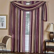Purple Bathroom Window Curtains by Ombre Curtain Scarf Walmart Com