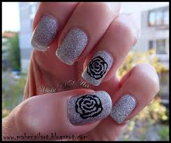 rose nail art designs choice image nail art designs