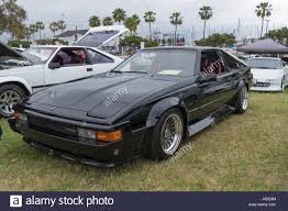 toyota usa 2017 long beach usa may 6 2017 toyota celica supra 1984 on display
