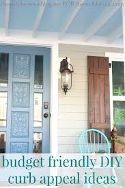 Ideas For Curb Appeal - remodelaholic budget friendly curb appeal ideas