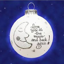 you to the moon and back ornament ebay