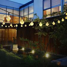 Fairy Lights In Trees by Primium Solar String Lights Waterproof Outdoor Globe Lights 20ft