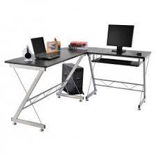 Black And White Computer Desk Desks Home Office Home Goods