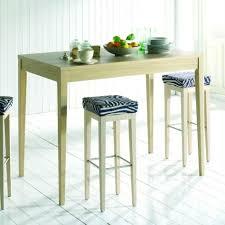 de cuisine fabuleux table bar de cuisine chaise bois facon pas cher eliptyk