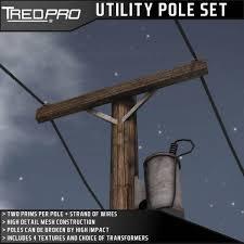 second marketplace tredpro mesh utility pole set