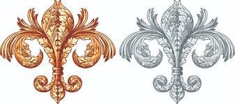 european style ornament design material vector ornament vector