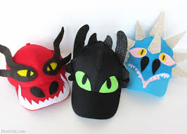train dragon easy baseball hats free printable