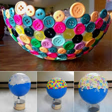 diy ideas balloon bowl diy yarn bowls craf5