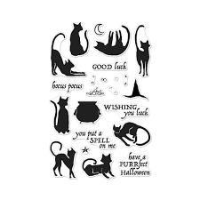 cm202 luna the halloween cat hero arts