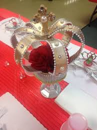 Royal Crown Centerpieces by 2614 Best Birthday Decorations Images On Pinterest Glass