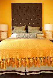 Modern Interior Design Ideas Blending Brown And Orange Colors - Bedroom orange paint ideas