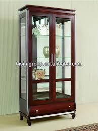 Display Hutch Modern Style Wooden Display Cabinet Curio Hutch Bg90367