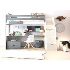 lit mezzanine ado avec bureau et rangement chambre enfant avec bureau lit mezzanine ado avec bureau et