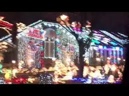 christmas lights wichita ks driving through christmas lights on texas st in wichita ks youtube